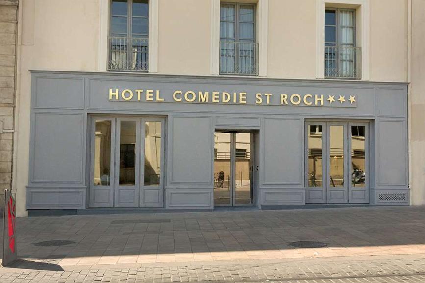 Best Western Plus Hotel Comedie Saint-Roch - Aussenansicht