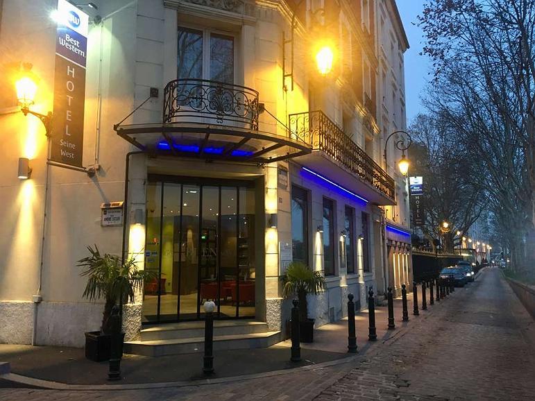 Best Western Seine West Hotel - Aussenansicht