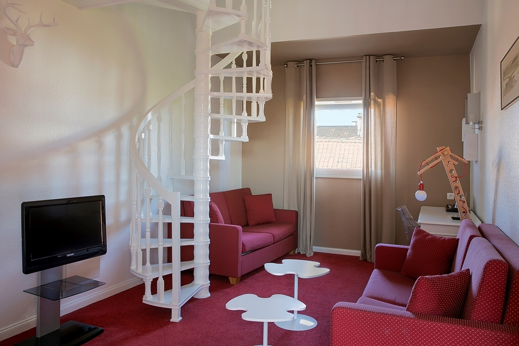 Best Western Au Cheval Blanc Mulhouse Nord - Chambres / Logements