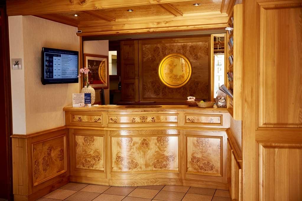 Best Western Au Cheval Blanc Mulhouse Nord - Hall