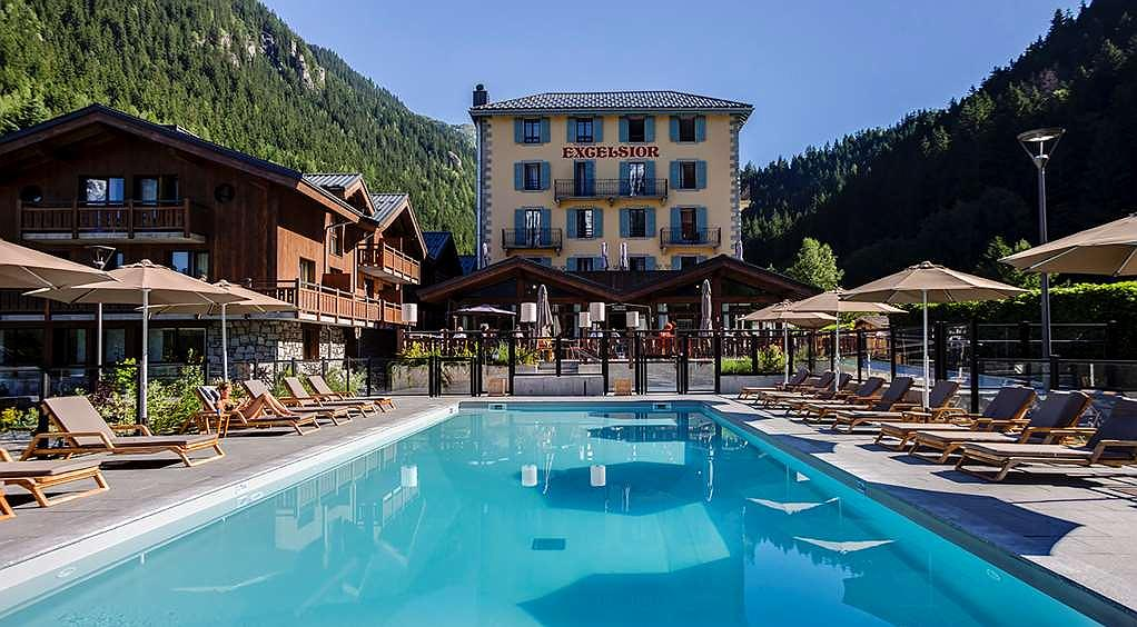 Best Western Plus Excelsior Chamonix Hotel Spa - Area esterna