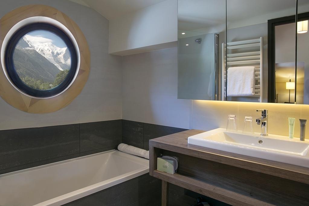 Best Western Plus Excelsior Chamonix Hotel Spa - Badezimmer