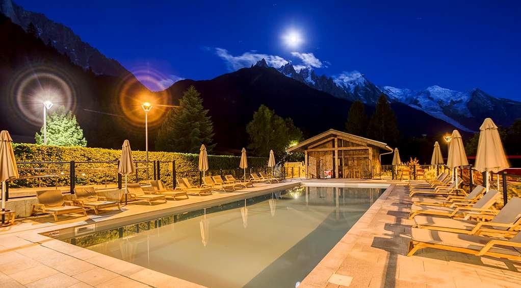 Best Western Plus Excelsior Chamonix Hotel Spa - Vue de la piscine