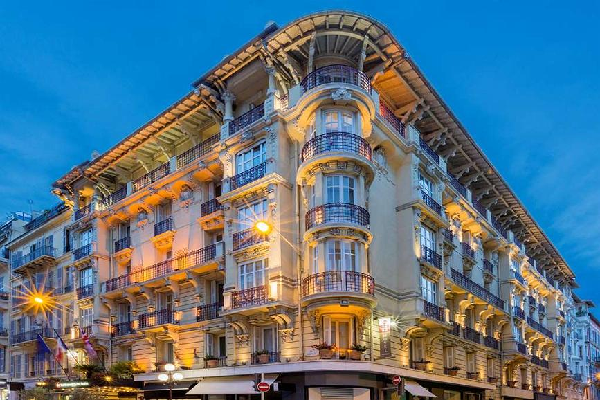 Best Western Plus Hotel Massena Nice - Aussenansicht