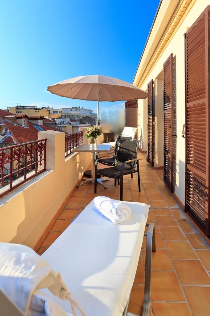 Best Western Plus Hotel Massena Nice - balcón