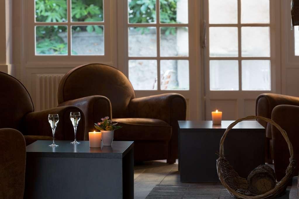 Best Western Blanche De Castille Dourdan - Lounge