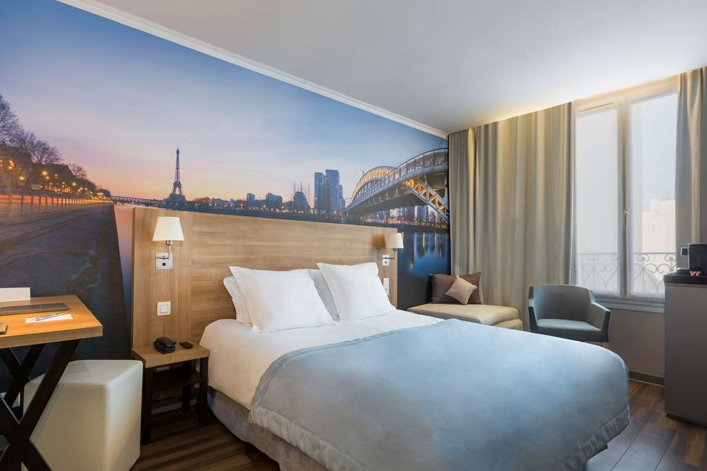 Best Western Rives de Paris La Defense - Chambres / Logements