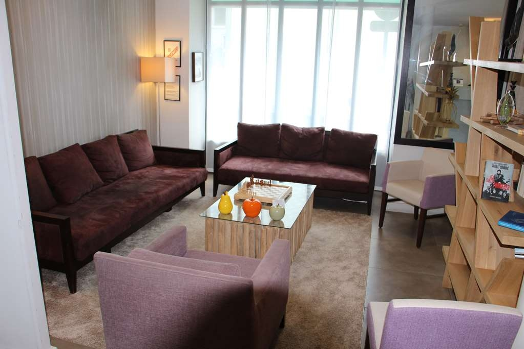 Best Western Rives de Paris La Defense - Vue du lobby