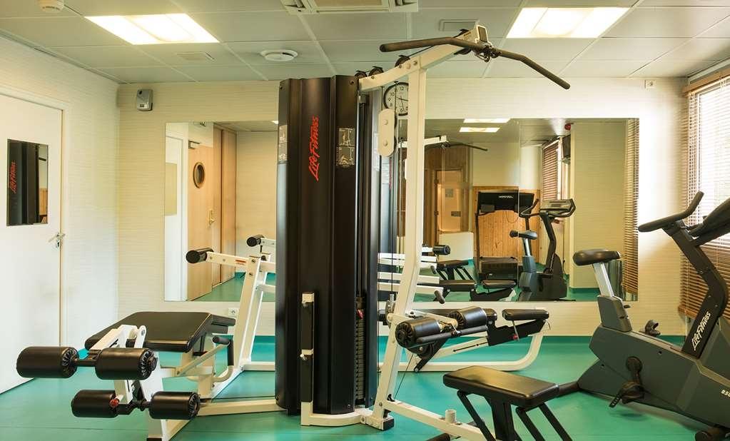 Best Western Paris Saint-Quentin - Sala fitness