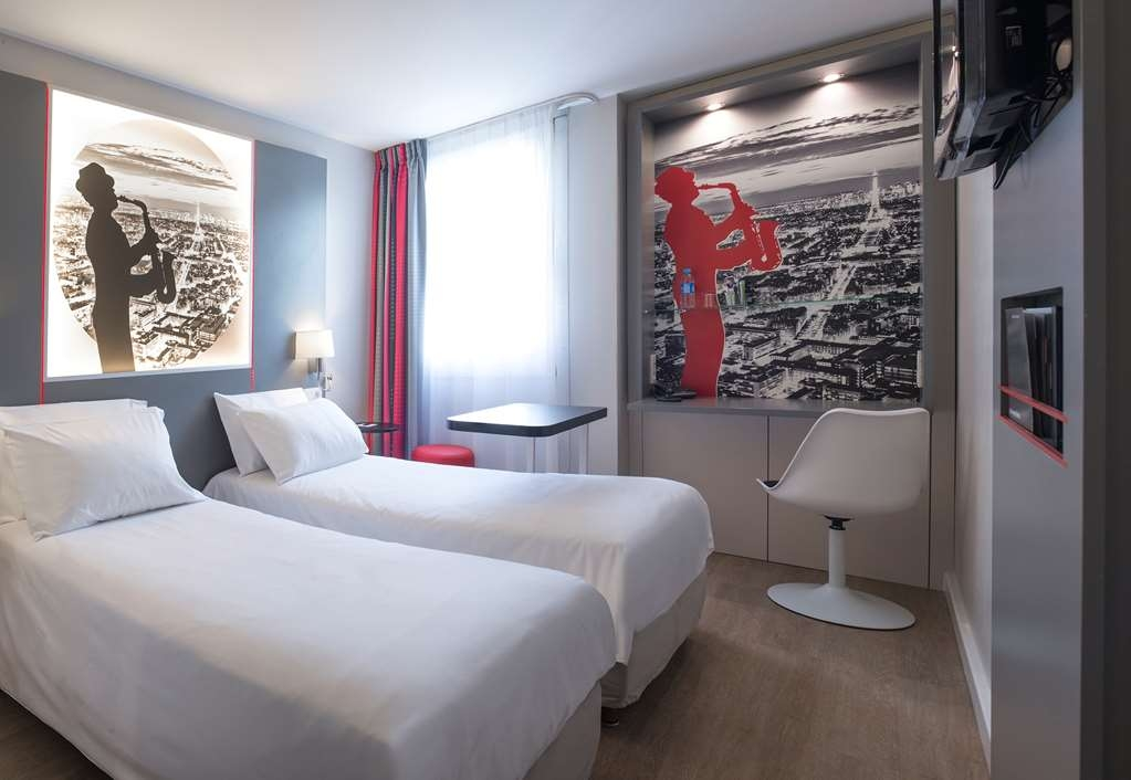 Best Western Paris Saint-Quentin - Standard Twin Bed Guest Room
