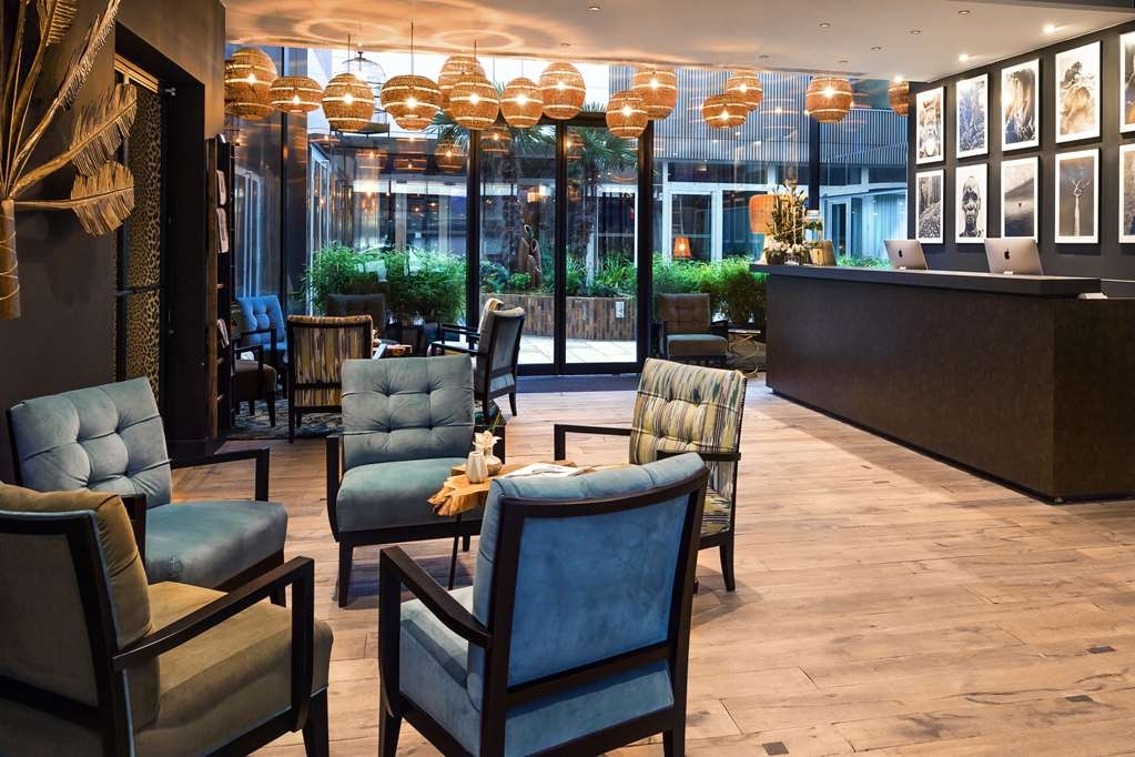 Hotel l'Arbre Voyageur, BW Premier Collection - Vue du lobby