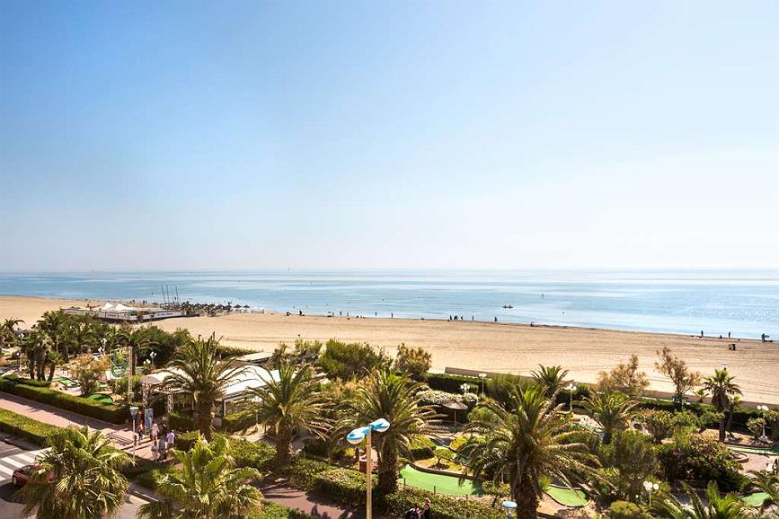 Best Western Hotel Canet-Plage - Area esterna