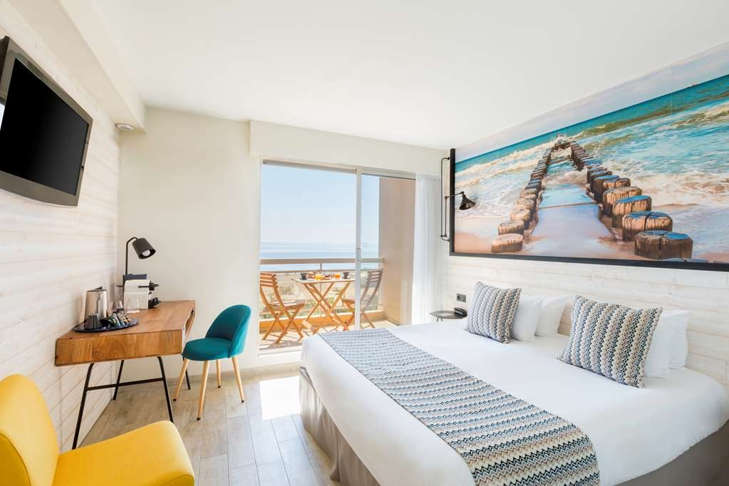 Best Western Hotel Canet-Plage - Guest Room with sea view
