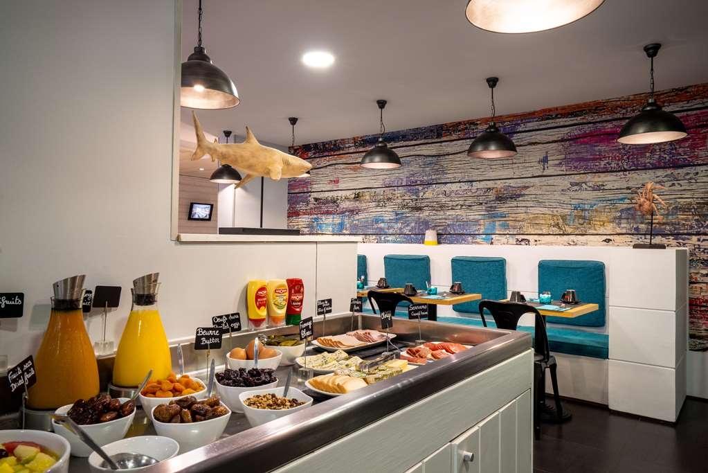 Best Western Hotel Canet-Plage - Breakfast Area