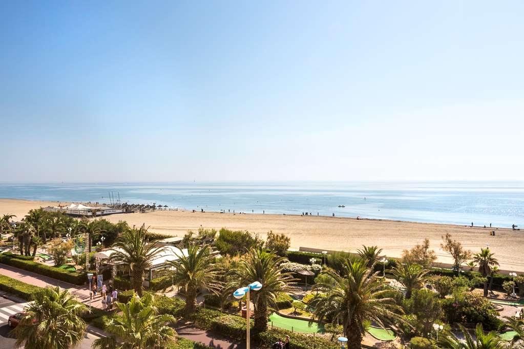 Best Western Hotel Canet-Plage - Vue mer du balcon