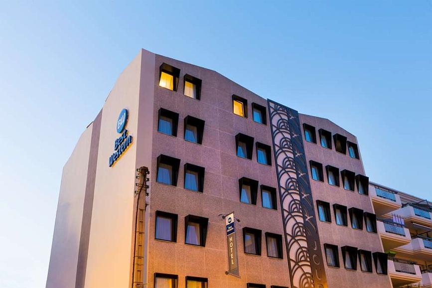 Best Western Hotel Journel Saint-Laurent-du-Var - Vista exterior