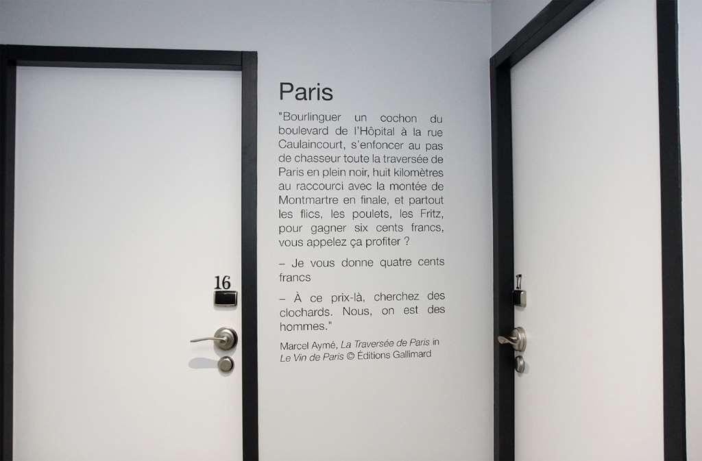 Best Western Plus Hotel Litteraire Marcel Ayme - Hallway