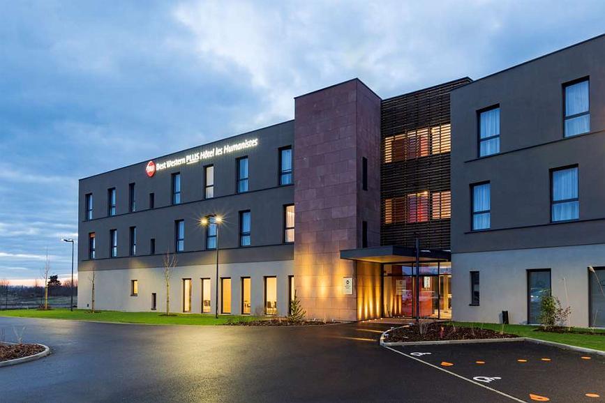 Best Western Plus Hotel Les Humanistes - Vista exterior