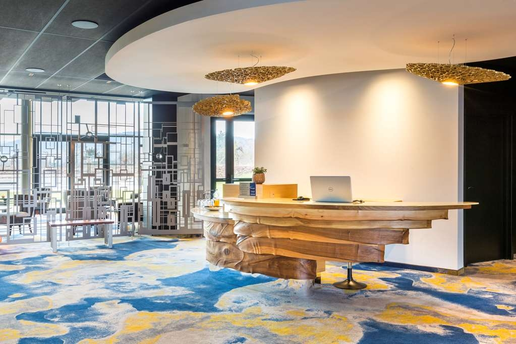 Best Western Plus Hotel Les Humanistes - Lobbyansicht