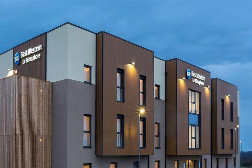 Best Western Hotel Le Semaphore - Aussenansicht