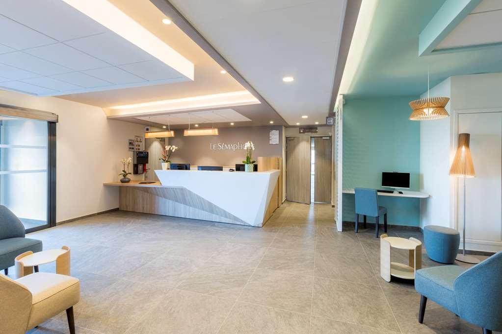 Best Western Hotel Le Semaphore - Vue du lobby