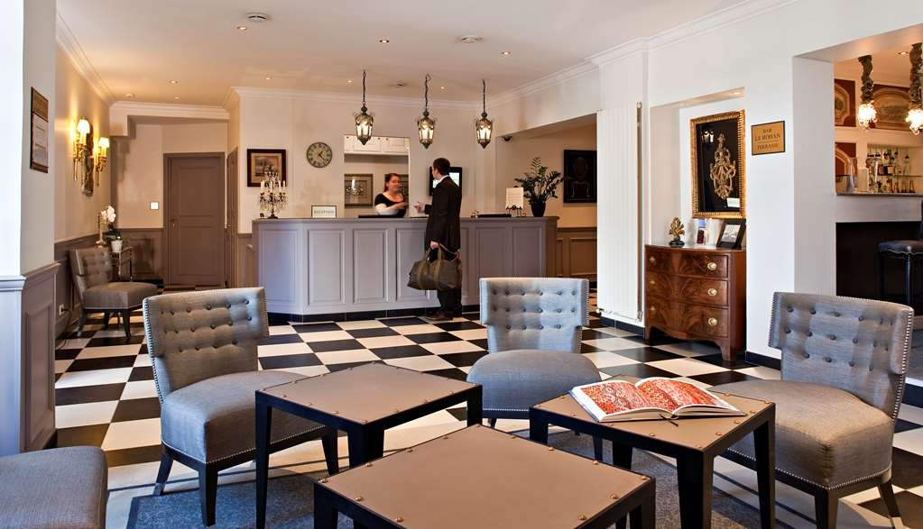 Best Western Plus Hotel Villa D'est - Vista del vestíbulo