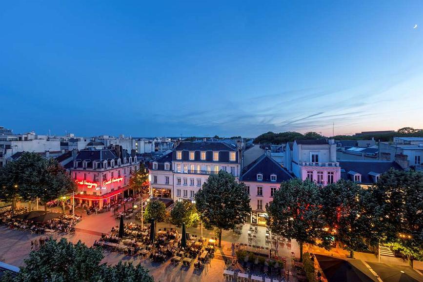Best Western Hotel Centre Reims - Aussenansicht