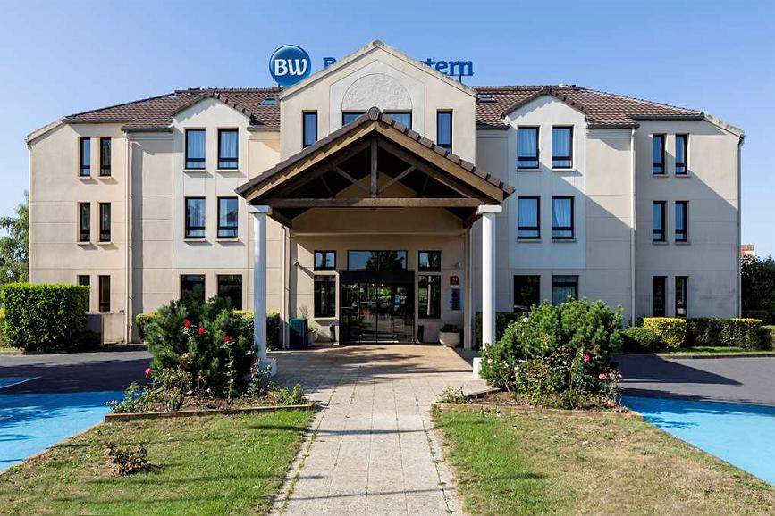 Best Western Hotel Grand Parc - Aussenansicht