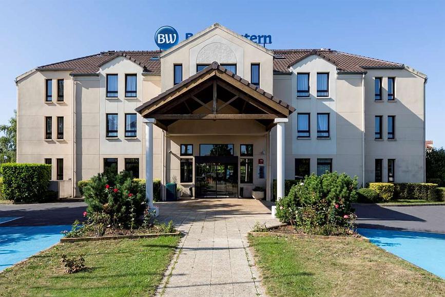 Best Western Hotel Grand Parc - Vista exterior