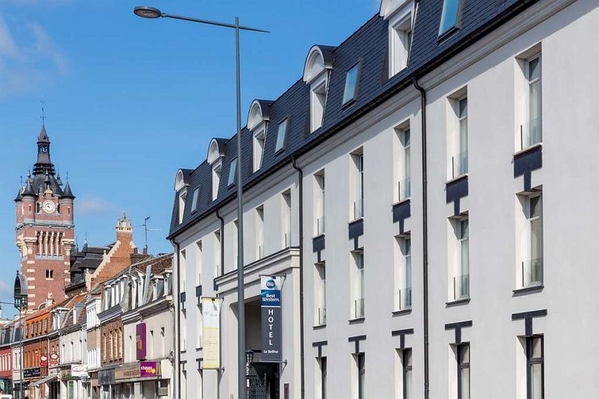 Best Western Le Beffroi - Vista exterior