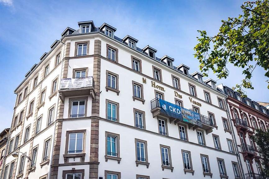 Hotel des Vosges, BW Premier Collection - Aussenansicht