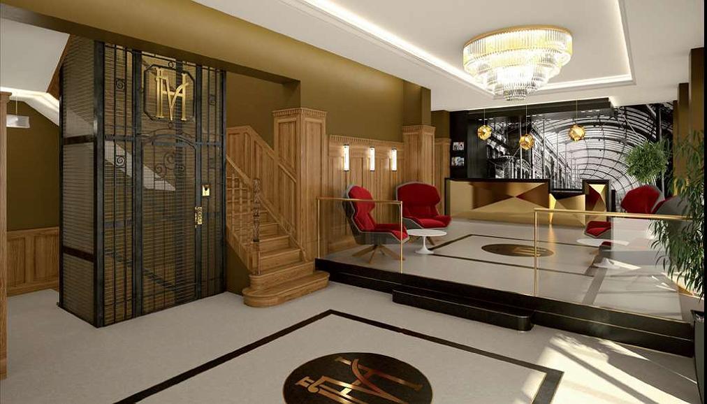 Hotel des Vosges, Premier Collection - Lobbyansicht