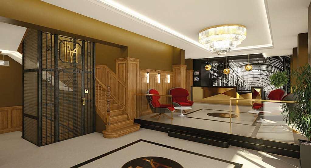 Hotel des Vosges, BW Premier Collection - Lobbyansicht