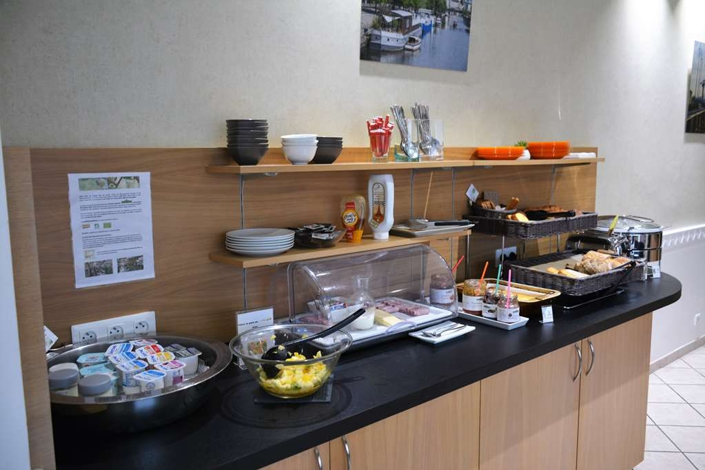 Best Western Atlantys Hotel Zenith Nantes - Petit Déjeuner Buffet