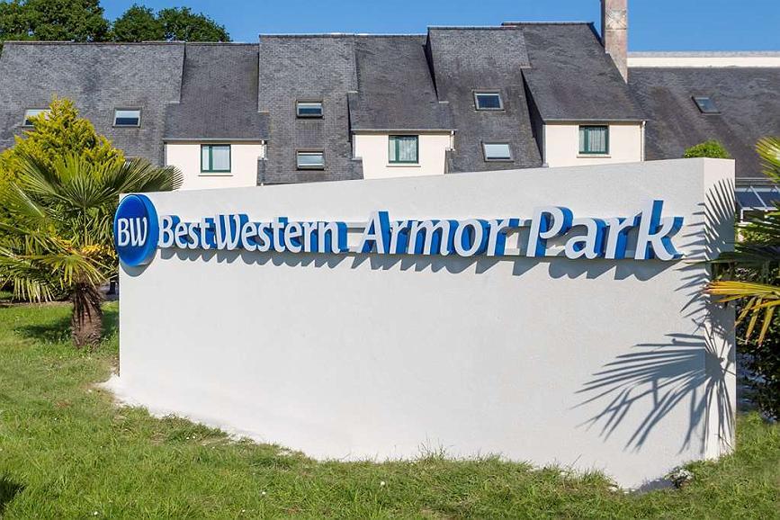 Best Western Hotel Armor Park Dinan - Enseigne de l'hôtel