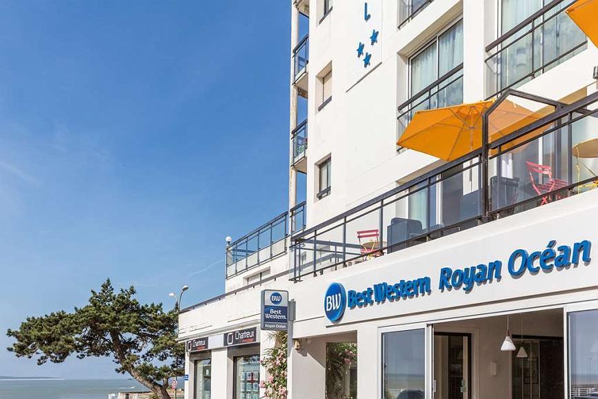 Best Western Hotel Royan Ocean - Aussenansicht