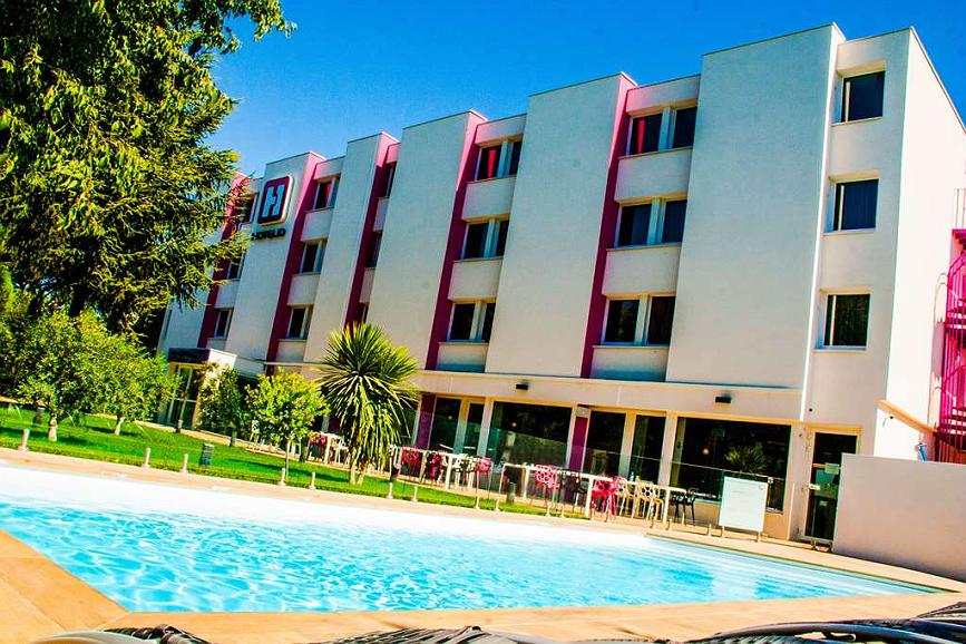 Best Western Hotelio Montpellier Sud - Area esterna