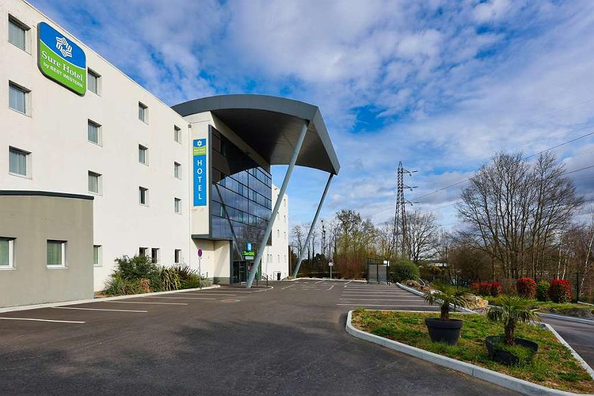 Sure Hotel by Best Western Nantes Beaujoire - EXTERIOR