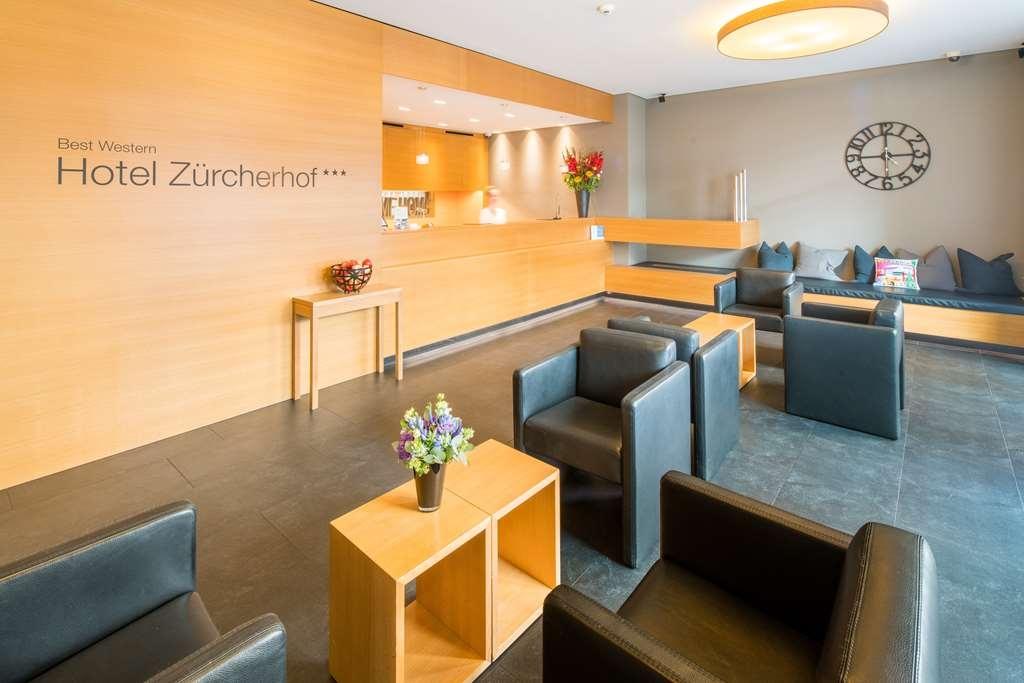 Best Western Plus Hotel Zuercherhof - Vue du lobby