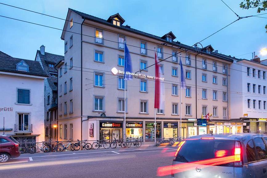 Best Western Plus Hotel Bahnhof - Aussenansicht
