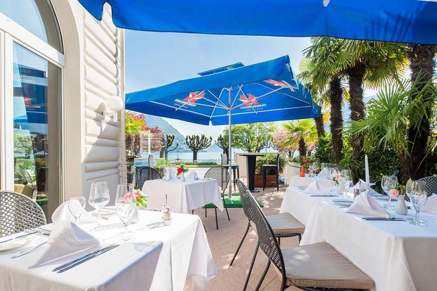 Best Western Hotel Bellevue Au Lac - Terrace