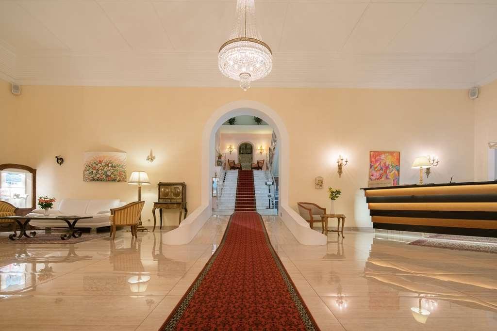 Best Western Hotel Bellevue Au Lac - Vue du lobby