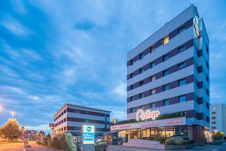 Best Western Hotel Rallye - Aussenansicht