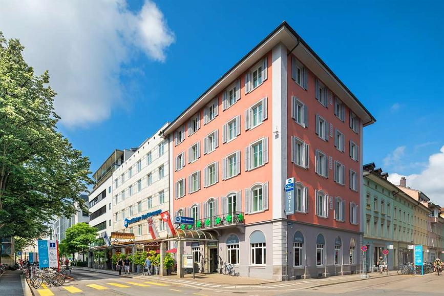 Best Western Hotel Wartmann am Bahnhof - Façade