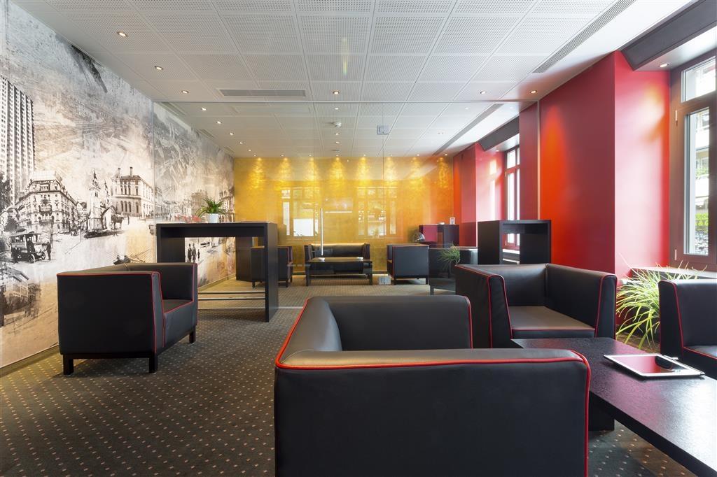 Best Western Hotel Wartmann am Bahnhof - Vestíbulo