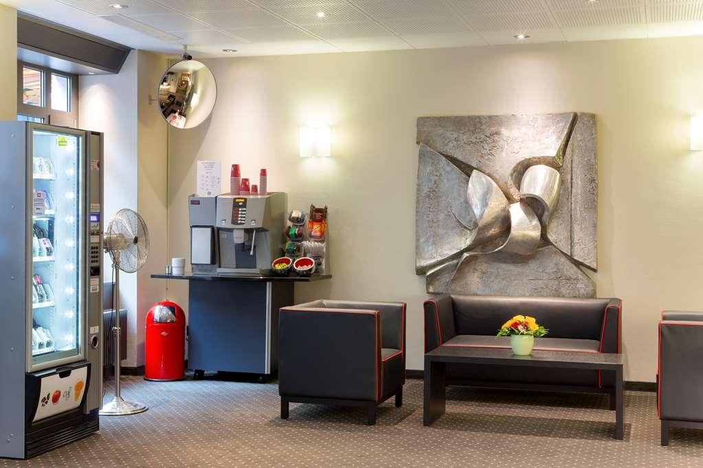 Best Western Hotel Wartmann am Bahnhof - Vista del vestíbulo