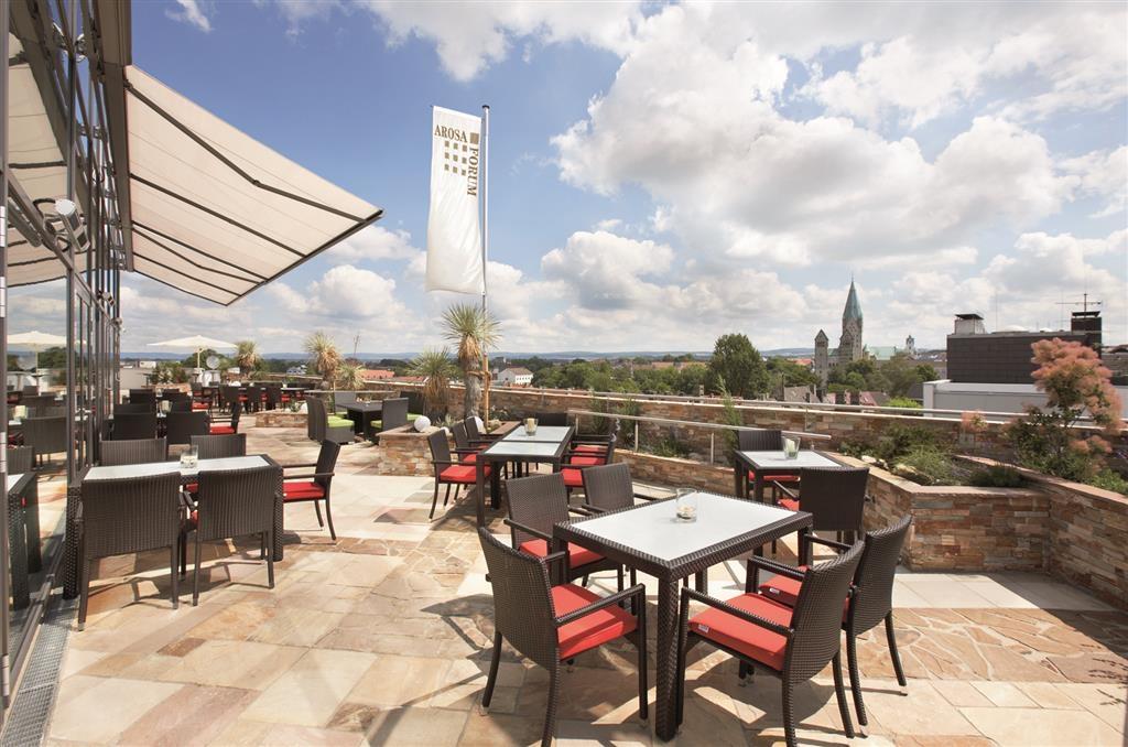 Best Western Plus Arosa Hotel - Terrasse