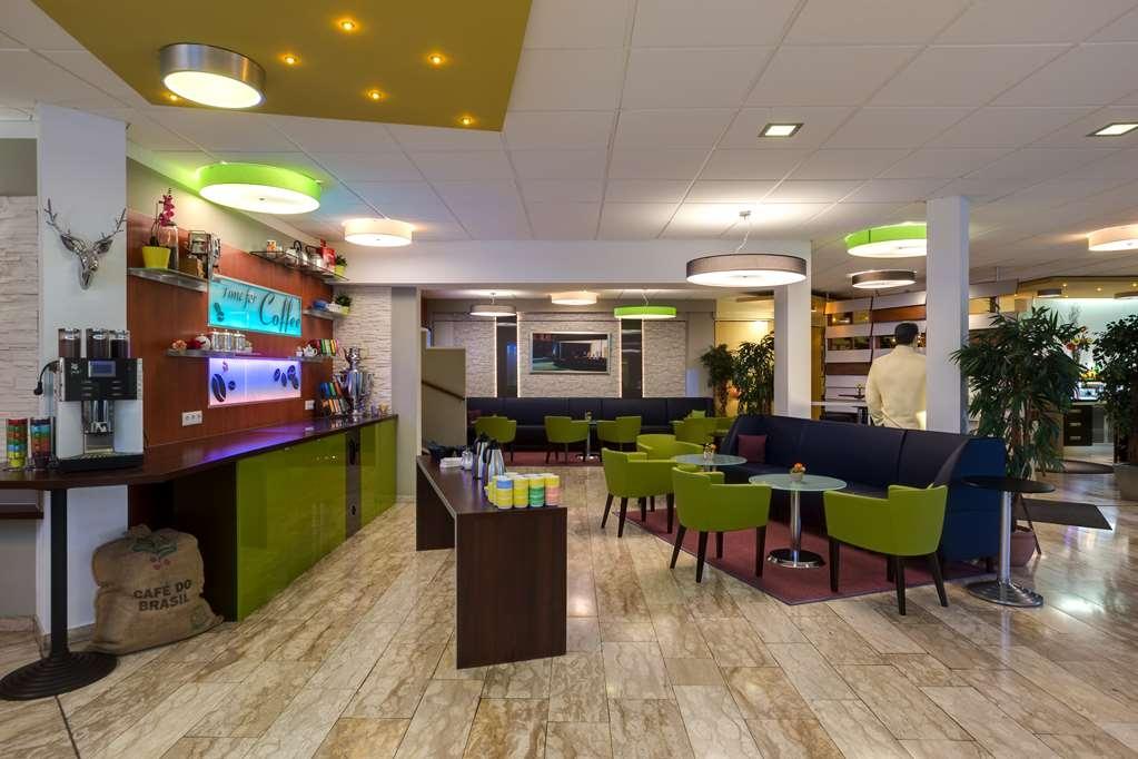Best Western Hotel Ambassador - Vista del vestíbulo