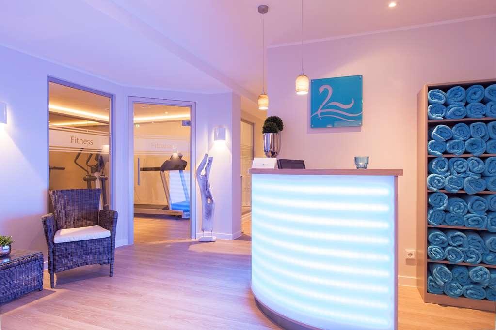Best Western Premier Alsterkrug Hotel - fitness Area