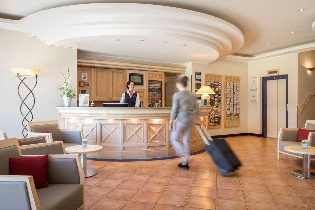 Best Western Premier Alsterkrug Hotel - Vista del vestíbulo